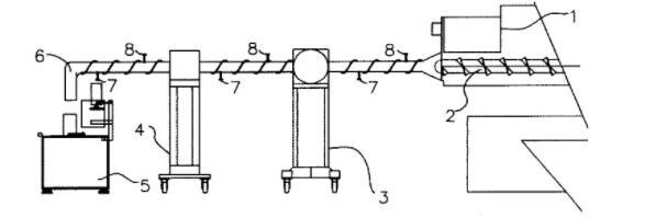 Production process diagram of new butyl sealant