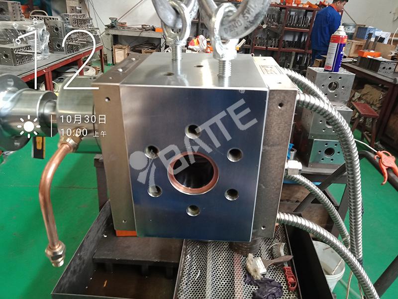 polymer melt pump