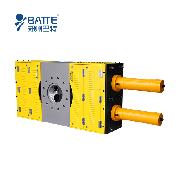 automatic continuous hydraulic screen changer