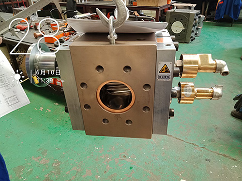 gear pump for plastic extrusion