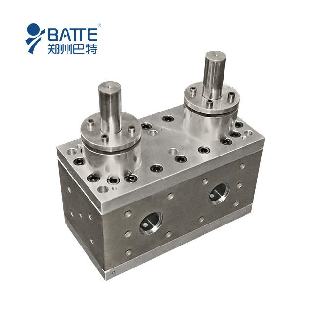 double shaft drive melt pump