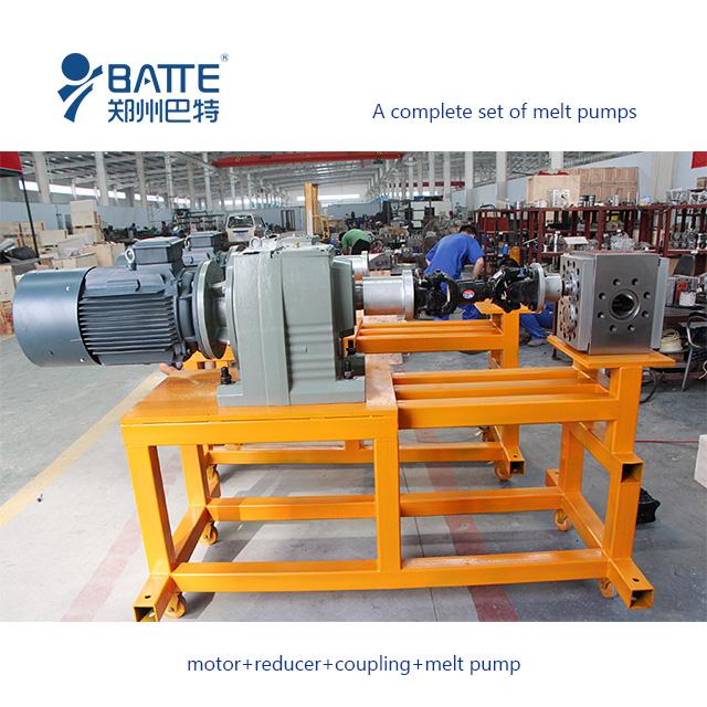 batte gear melt pump