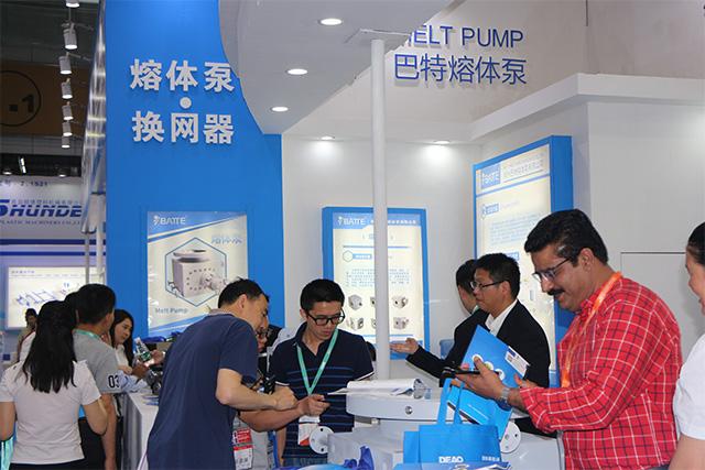 pvc extruder pump horizontal installation