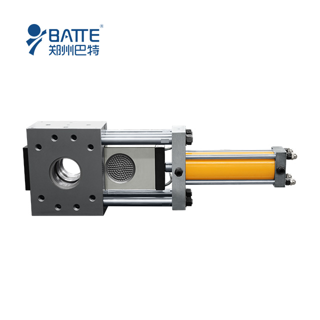 hydraulic slide-plate screen changers extrusion plastic machine