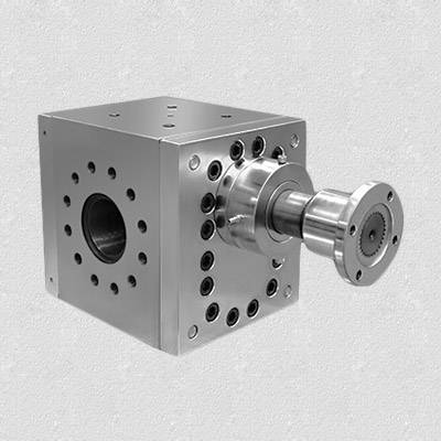 boosting pressure extrusion melt pump